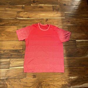 Lululemon metal vent tech shirt - red